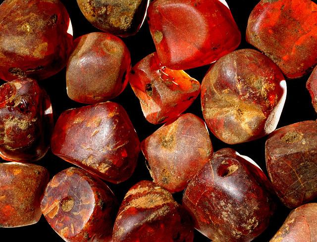 amber gemstones