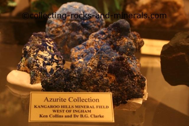 azurite crystal