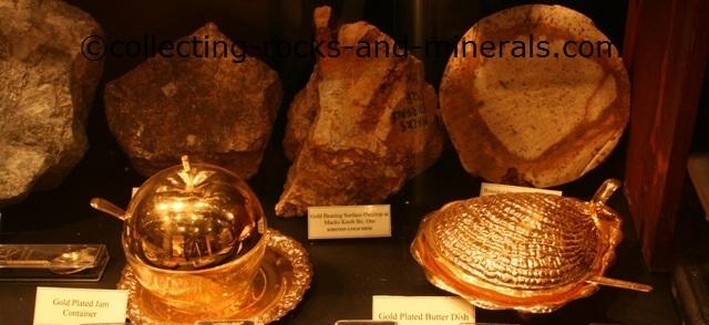 gold minerals