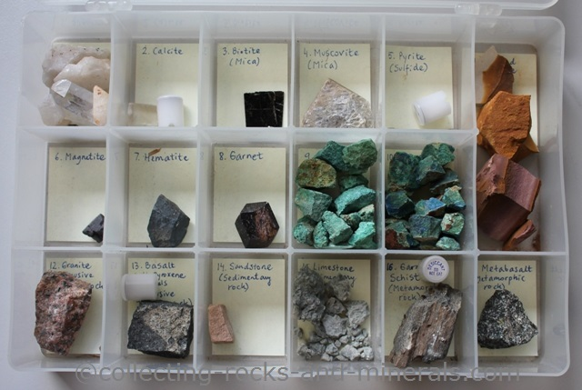 rock mineral collection