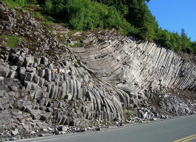 andesite volcanic rock