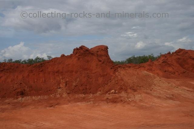bauxite deposit