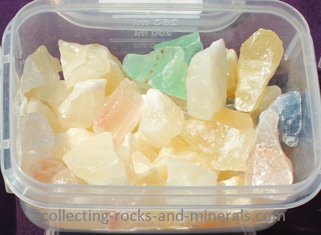 calcite minerals