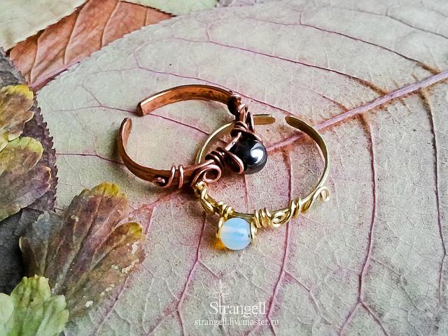moonstone rings